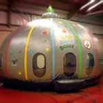 Disco Party Dome inflatable