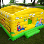 Farm House kids inflatable