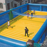 Inflatable Beach Volleyball hire