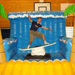 Surf Simulator inflatable ride